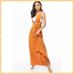 New Forever21 Swim Cover-Up Maxi Dress